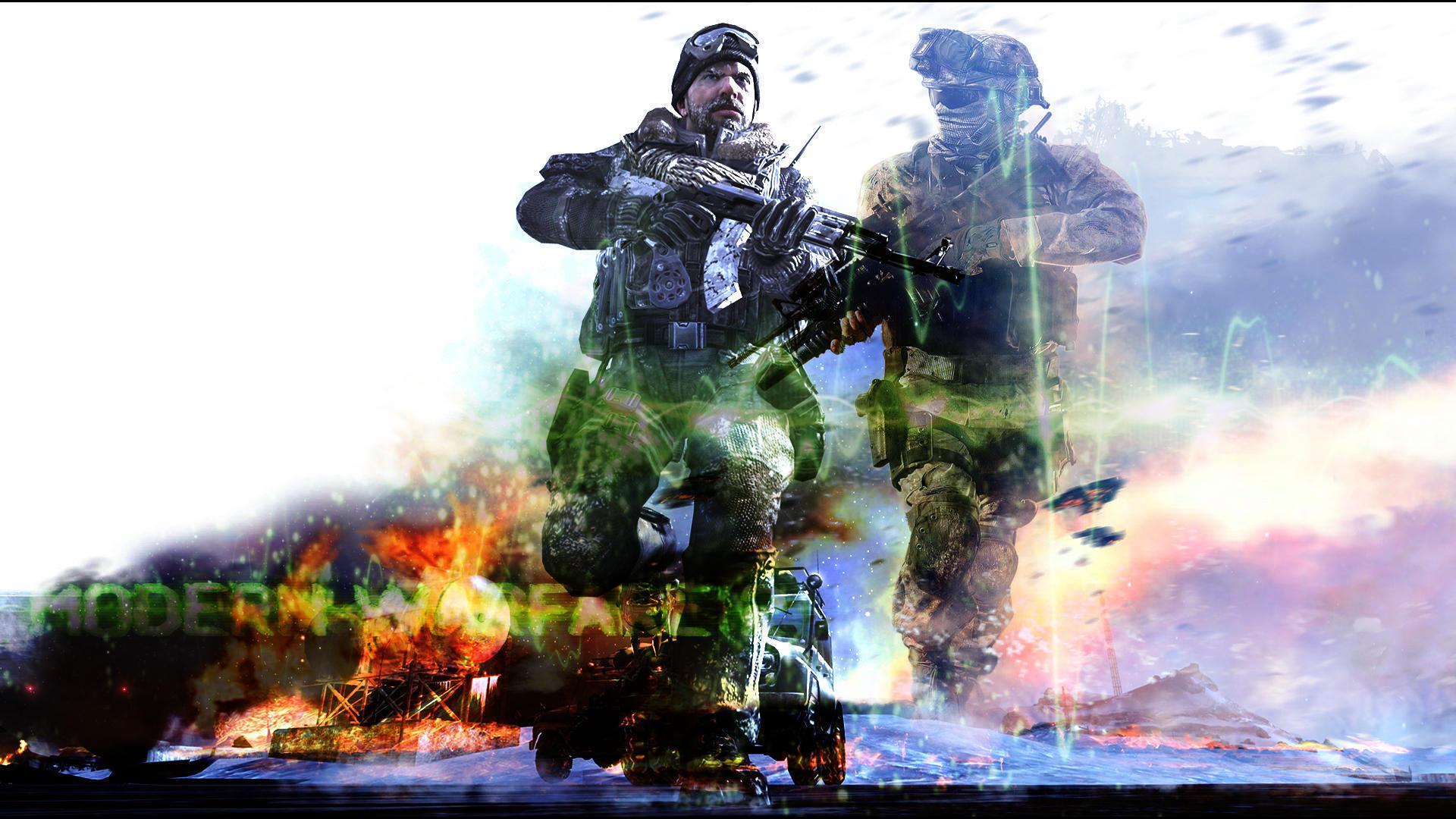 Modern Warfare 2 Wallpaper by Geffekt on DeviantArt