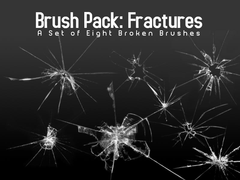 Broken Glass Brushes - Eight