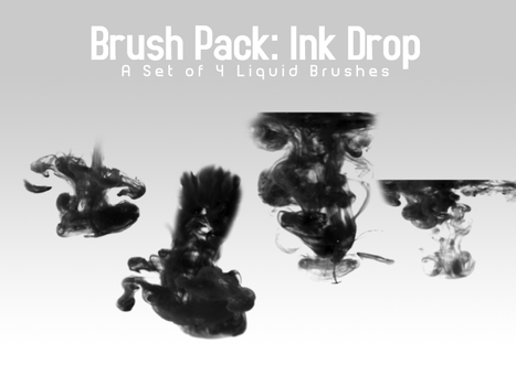 Ink Drop - 4 Brushes