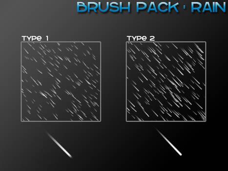 Rain - 4 Brushes
