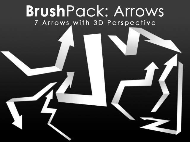 BrushPack - 3D Arrows by PerpetualStudios