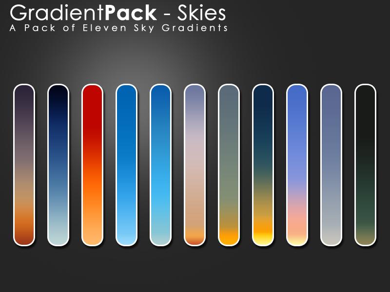 GradientPack - Skies