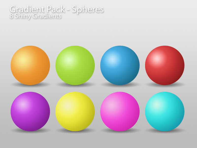 Gradient Pack - Spheres by PerpetualStudios