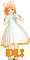 UPDATE- UPDATE White Dress Rin! DL!