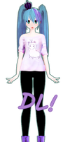 Simple Pastel Goth Miku DL!