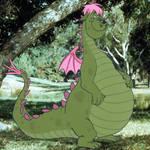 Elliott the dragon
