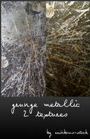 grunge metallic by rainbows-stock