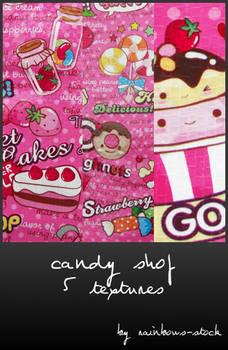 candy shop textures