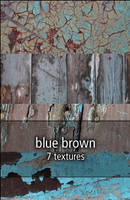 blue brown textures by rainbows-stock