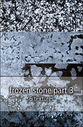 frozen stone textures part3 by rainbows-stock