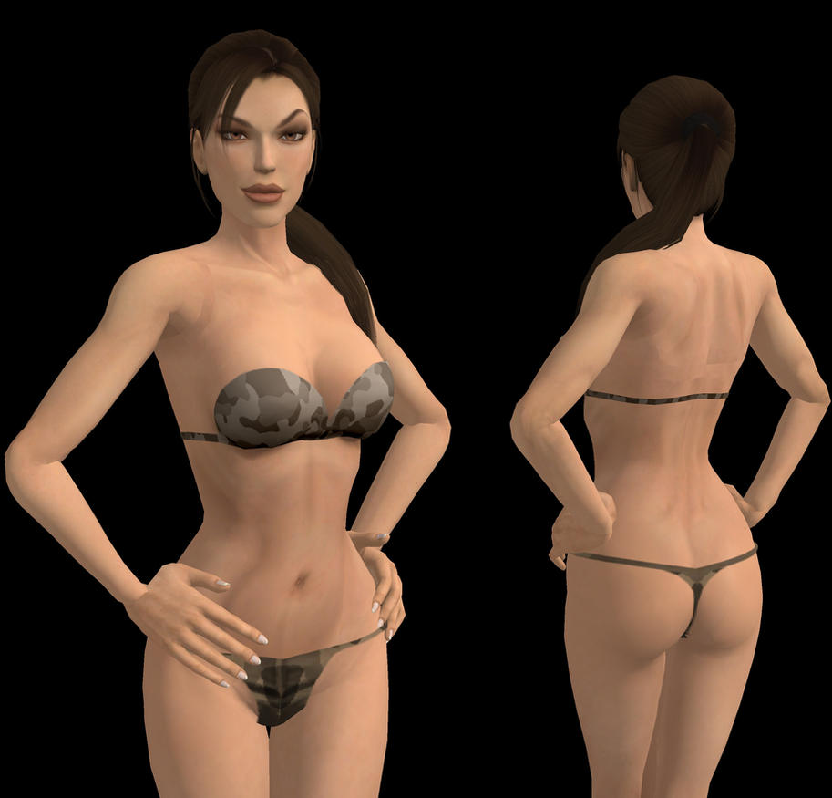 Lara Hot Underwear by spuros12 on DeviantArt