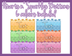 [Pixel] Hearts n' Sparkles Buttons