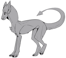 free lineart by Kydox