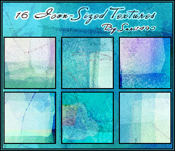 Icon-Sized Texture Set -- by sari1490