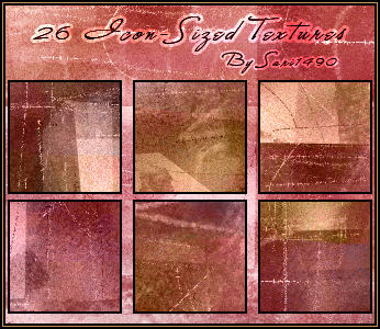 Icon-Sized Texture Set by sari1490