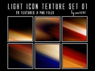 Light Icon Texture Set 01 by sari1490