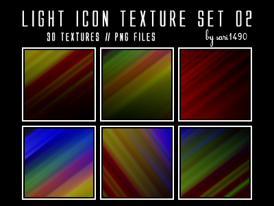 Light Icon Texture Set 02 by sari1490