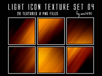 Light Icon Texture Set 04 by sari1490