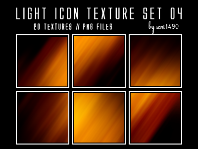 Light Icon Texture Set 04 by sari1490
