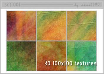 30 100x100 textures- set 001 by sari1490