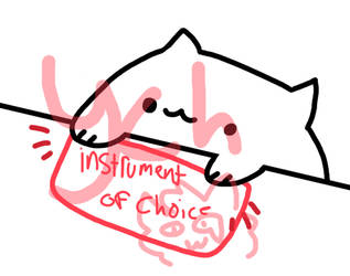it's a closed again bongo cat ych by asteriddle