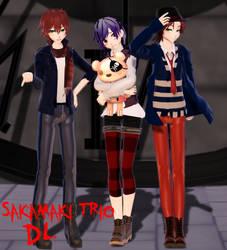 MMD Ayato, Kanato, and Laito Sakamaki DL