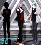 MMD Mystic Messenger Unknown and V DL