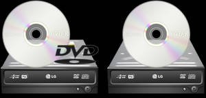 DVD and CD icons