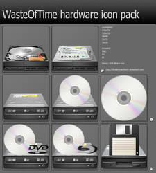 WasteOfTime hardware icon pack by DrunkenSandwich