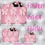 Pink Barbie Folder Icon 3