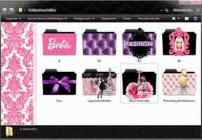 Fashion Icons Folders by mllebarbie03