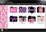Fashion Icons Folders