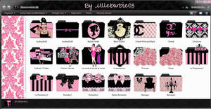 Fashion Icons Folders 2 by mllebarbie03 by mllebarbie03