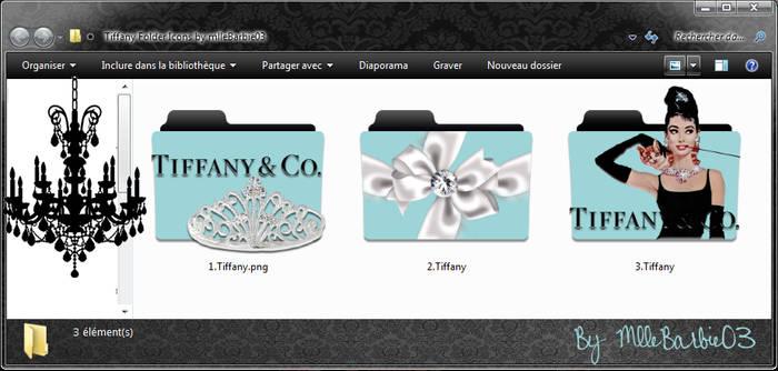 Tiffany Folder Icons by mlleBarbie03