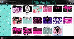 Cute Icons Folders by MlleBarbie03