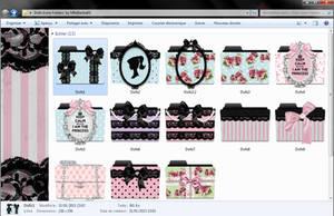 Dolls Icons Folders  by MlleBarbie03 by mllebarbie03