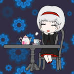 Tea Time by Rikuvi