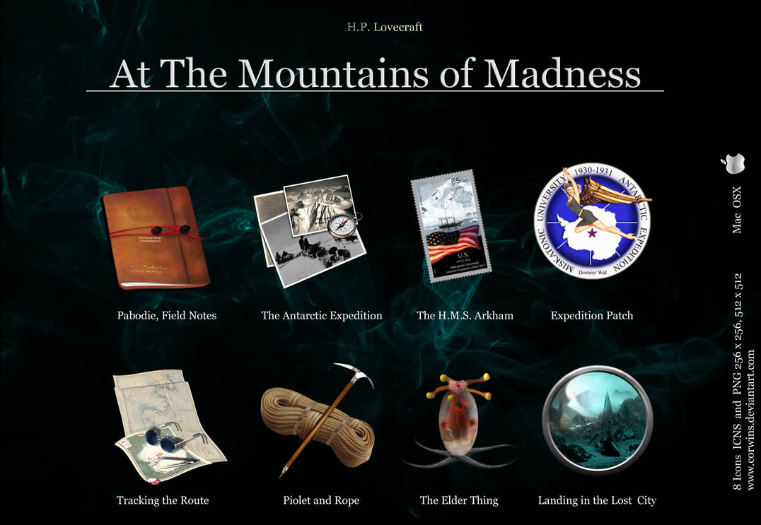 At the Mountains of Madness OSX