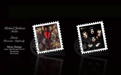 Music Stamps by Corwins