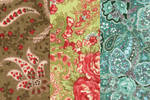 big paisley textures