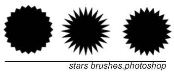 Stars brushes by sofresh