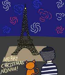 Christmas In Paris (GIF)
