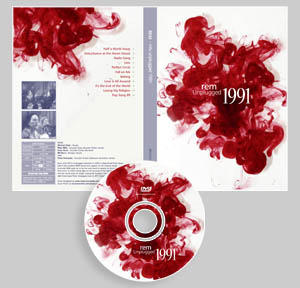 REM Unplugged 1991 DVD by Sibko