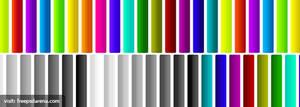 Nice photoshop gradient set