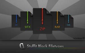 Stuffit Black Filetypes by devkiwi
