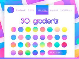 resources | 30 gradients
