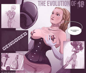 The Evolution of 18-illustrated by redstar-stories