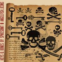 keys_and_bones by spikesbint