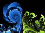 Spiralus Blue-Green