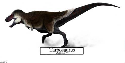 Tarbosaurus by BackOcean